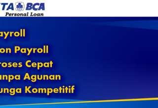 KTA BCA Payroll Berikut Kelebihannya