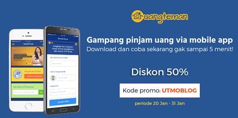 Pinjam Modal Uang 10 Juta Tanpa Jaminan Mudah Kok di uangteman.com